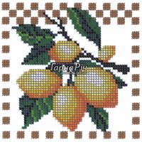 Схемы для вышивки бисером - Схема для частичной вышивки бисером