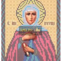 """Схемы для вышивки бисером - """"Св.Анна Пророчица"""""""